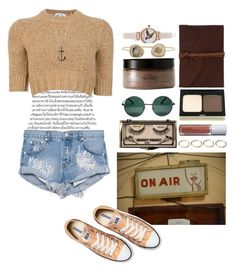 """""""gonna write another travelling song"""" by moonupabove on Polyvore featuring Murphy, Carven, One Teaspoon, Olivia Burton, philosophy, Kimberly McDonald, Kevyn Aucoin, YHF, But Another Innocent Tale and Jules Smith"""