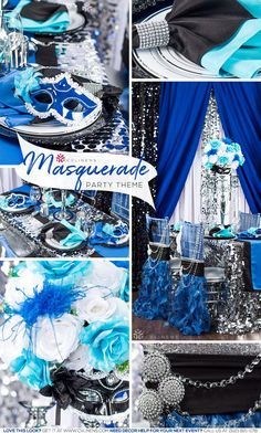 48 ideas for party themes sweet 16 masquerade ball center pieces – Quinceanera 2020
