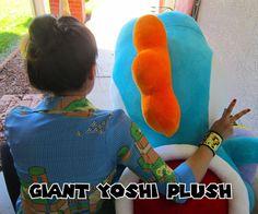 Giant Yoshi Plush