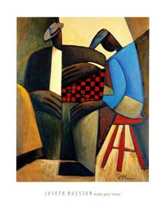 Make Your Move Joseph Holston Fine Art Print Poster