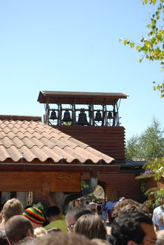 Taizé, France. There's nothing like the sound of these Bells. Love them.