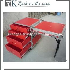 RK 4 drawer Flight Case with Detachable Cover +table, View drawer Flight Case, RK Product Details from RACK IN THE CASES PTE.LTD on Alibaba.com