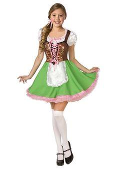 teen bavarian girl costume - Popular Tween Halloween Costumes