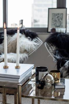 Carolina Engman's New York apartment via Fashionsquad