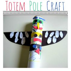Preschool Crafts for Kids*: Native American Totem Pole Paper Craft Native American Totem Poles, Native American Crafts, Art For Kids, Crafts For Kids, Arts And Crafts, Paper Crafts, Totem Pole Craft, Pilgrims And Indians, Thanksgiving Preschool