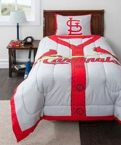 Louis Cardinals Twin Comforter Set By Idea Nuova