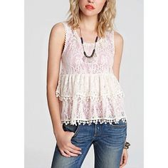 fяєє ρєσρℓє - Cream Crochet Tank ☞ ℓσωєѕт? Prices are firm unless bundled. Lowballs are ignored. I lower my prices frequently & offer a bundle discount!   ☞ мσ∂єℓ? With the wide range of sizes/styles that I offer, not everything fits me & therefore I do not model my items. I try my best to describe anything that is not exactly true to size.  ☞ яєѕєяνє? Sorry guys but I do not reserve items.  ☞ тяα∂є? No trades! Ever! Sorry! Free People Tops Tank Tops