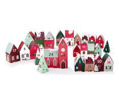 12,99 € Adventskalender-Dorf zum Zusammenfalten Kinder lieben Adventskalender! Dieser originelle Kalender versüßt die Wartezeit auf Weihnachten und ergibt zusammengefaltet gleich ein ganzes Weihnachtsdorf.