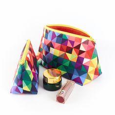 Large Cosmetics Bag Modern Geometric £16.00