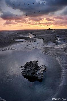 Sunset at Mompiche Ecuador Landscape photography #landscapephotography #naturephotography #photogallery #photography