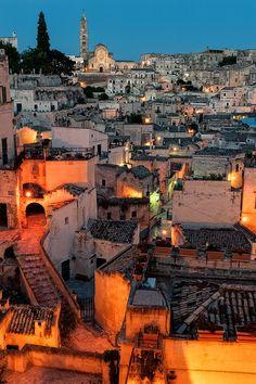 The Sassi of Matera, Basilicata, Italy (by Davide Petilli)