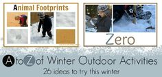 26 Winter outdoor activities to for you and your kids
