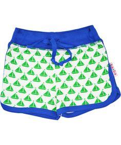 Baba Babywear green boat printed short shorts #emilea