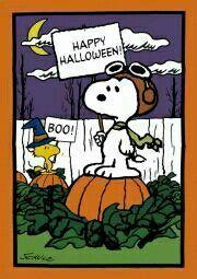 Snoopy hallowen