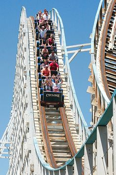 Wooden roller coasters freak me out!