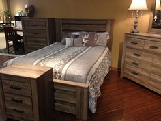 Zelen Poster Bed The True Rustic Beauty, The Warm Gray Finish Features A  Stylish White