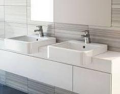 Lovely Semi Recessed Bathroom Cabinet