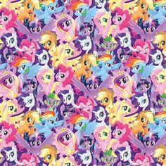 My Little Pony Fabric Packed Pony Magic Springs Creative Cotton Fabric My Little Pony Fabric, Festa Do My Little Pony, My Little Pony Rarity, My Little Pony List, Little Pony Party, My Little Pony Pictures, My Little Pony Friendship, Godzilla, Princesa Celestia