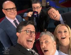 "Stephen Colbert, Jon Stewart, Samantha Bee stage 'Daily Show' reunion | The entire gang is back together again. Stephen Colbert staged a ""Daily Show"" reunion with Jon Stewart, Samantha Bee, John Oliver, Ed Helms and Rob Corddry on ""The Late Show"" Tuesday night.."