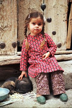 """Little Turkish Girl [ """"Turkey 1988 - 131 by le petit danois"""", """" little turkish girl aa"""", """"Little Turkish Girl . and her best friend!"""", """"A little one & her puppy from Türkey."""", """"She is so cute! Kids Around The World, We Are The World, People Around The World, Precious Children, Beautiful Children, Beautiful People, Little People, Little Ones, Little Girls"""