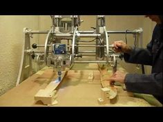 Clone 4D - Router Duplicator / Copy Carver -  Propeller Duplicating. - YouTube