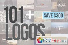 107 Logo Templates & Designs Bundle 136086