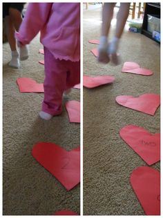 Valentine Heart Hop: Adorable Valentine game for kids.perfect for a young kids Valentine's Day Party! Valentines Games, Valentine Theme, Valentines Day Activities, Valentines Day Party, Valentines For Kids, Valentine Day Crafts, Valentine Heart, Valentine Nails, Valentine Ideas