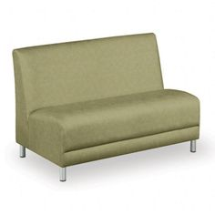 Designer Upholstery Armless Loveseat // NBF Signature Series Boulevard Collection