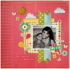 Rochelle Spears: You & Me Layout