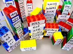 build-a-poem for National Poetry Week by Sturdy for Common Things Library Week, Teen Library, Library Lessons, Library Ideas, Poetry Activities, Library Activities, Space Activities, Library Displays, Book Displays