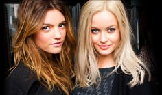 Want to dye my hair like the girl on the left - Montana from Australia's Next Top Model