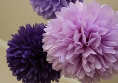 paper flowers, so fabulous as wedding or party decorations.