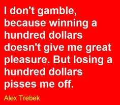 Negative gambling quotes best online gambling sites nj