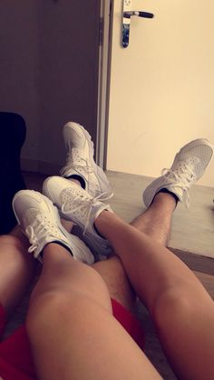 Second pair of matching shoes