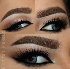 Love this eyeshadow look and her eyebrows are so nicee