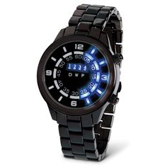 The Increments Of Time LED Watch - Hammacher Schlemmer