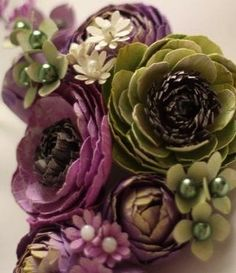 """Ranunculus asiaticus """"you are radiant with charms"""" Plum Color, Plum Purple, Green And Purple, Green Colors, Olive Green, Jewel Colors, Burgundy, Plum Living Rooms, Living Room Green"""