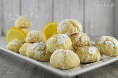 Popraskané citrónové sušienky (fotorecept)