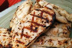 Ranch Chicken Marinade: A quick and easy marinade for chicken that is full of flavor and makes grilling, sautéing, or baking delicious chicken a snap.