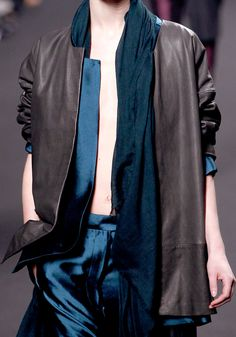Haider Ackermann--I am in love with everything in this collection--
