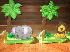 ambientacion de animales de la selva - Cerca amb Google