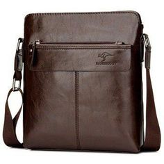 Vintage Men Leather Shoulder Bag