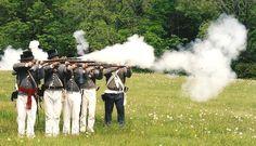 American milita. Battle of Stoney Creek.