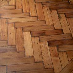 Floor Option 2: Herringbone Reclaimed Wood