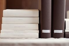 Paper covered books.