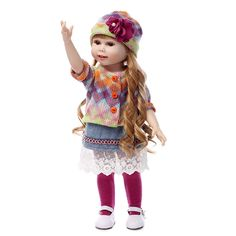 59.99$  Watch here - http://alik8j.worldwells.pw/go.php?t=32509275272 -  Countryside Most popular 18inches fashion play doll education toy for christmas gifts 59.99$