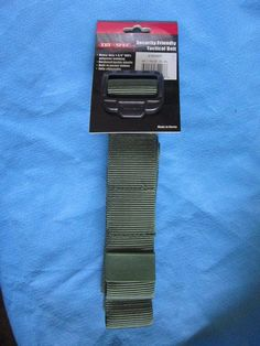 Tru-Spec Security Friendly Tactical Belt - Green - 2XL #TRUSPEC