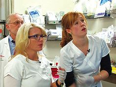 I love these two on NY Med! Excellent nurses & hilarious too.