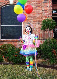 Killer clown girls costume spirithalloween halloween ideas scary clown costume 2013 solutioingenieria Image collections