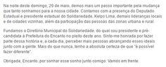 RN POLITICA EM DIA: ENCANTO: SOLIDARIEDADE É FUNDADO OFICIALMENTE NO M...